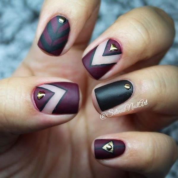 29 matte nail designs - 60 Pretty Matte Nail Designs