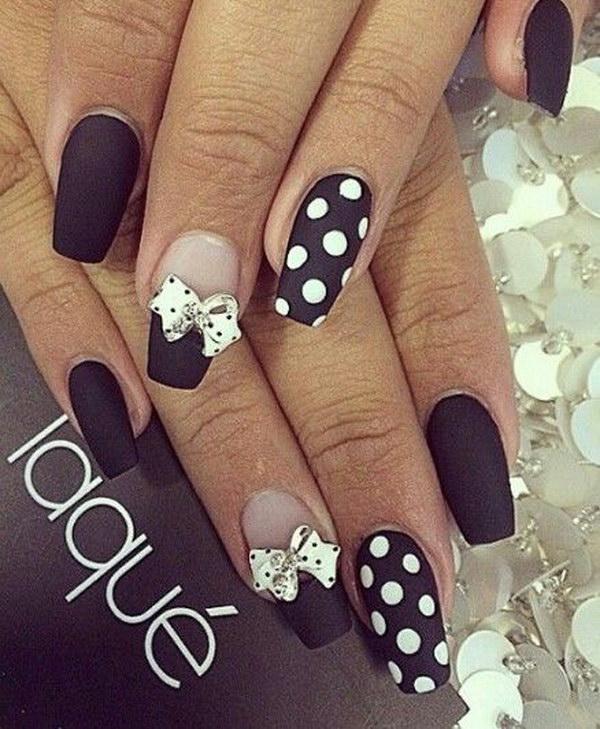 33 matte nail designs - 60 Pretty Matte Nail Designs