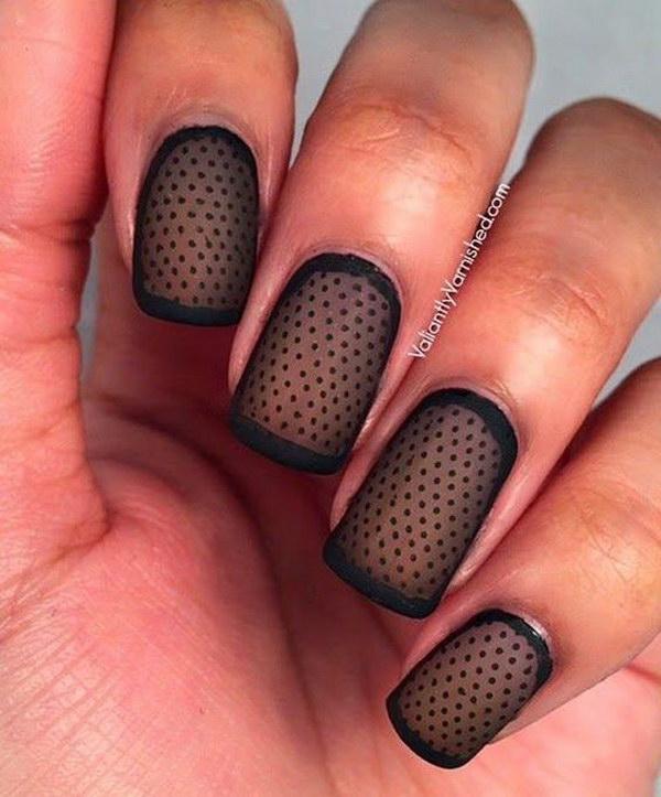 35 matte nail designs - 60 Pretty Matte Nail Designs