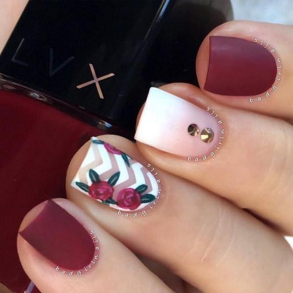 38 matte nail designs - 60 Pretty Matte Nail Designs