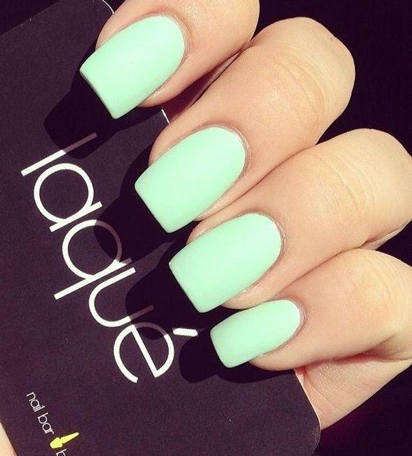 4 matte nail designs - 60 Pretty Matte Nail Designs