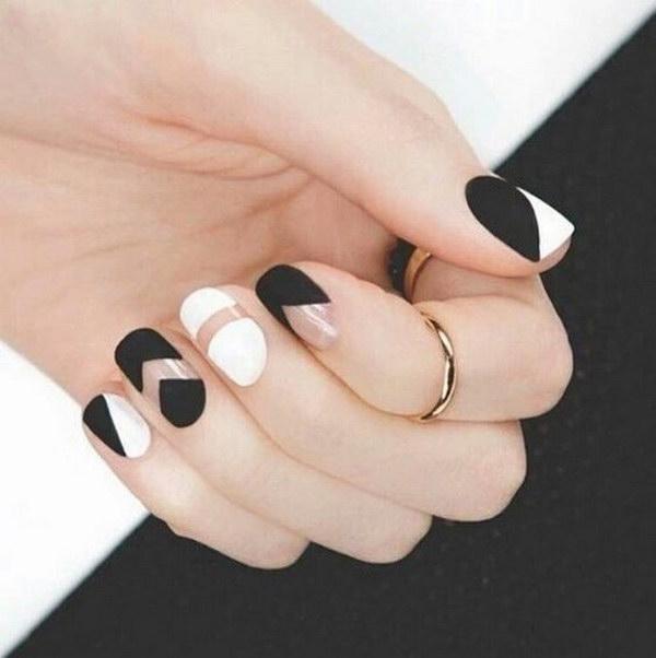 56 matte nail designs - 60 Pretty Matte Nail Designs