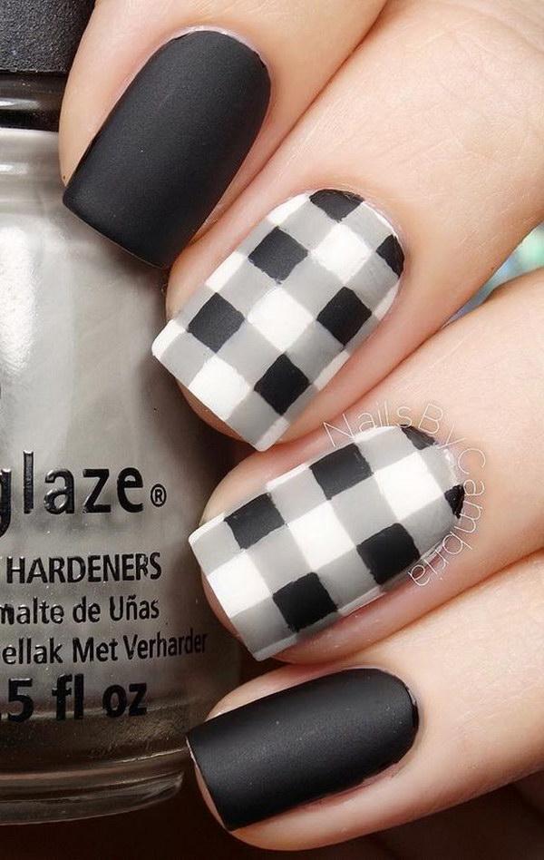 60 matte nail designs - 60 Pretty Matte Nail Designs