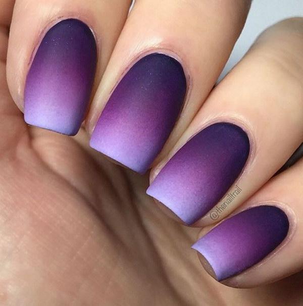 8 matte nail designs - 60 Pretty Matte Nail Designs