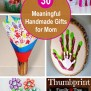 30 Meaningful Handmade Gifts For Mom Styletic