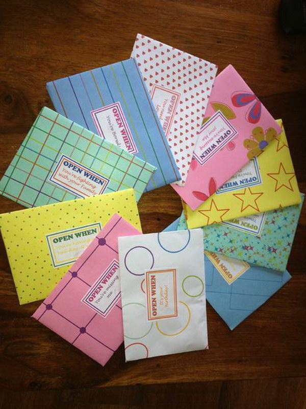 Creative Open When Letter Ideas Amp Designs