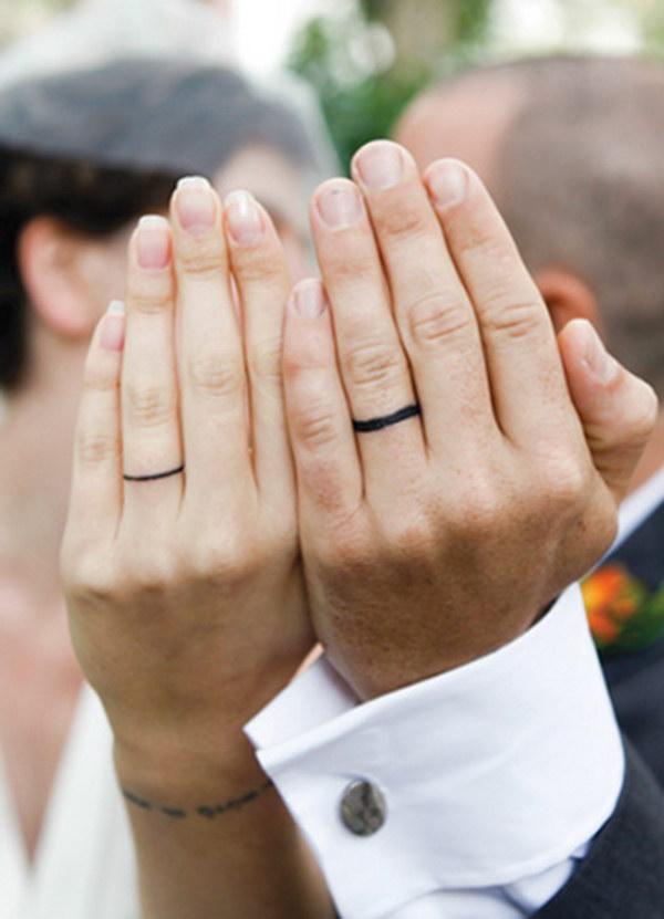 Infinity Wedding Ring Sets
