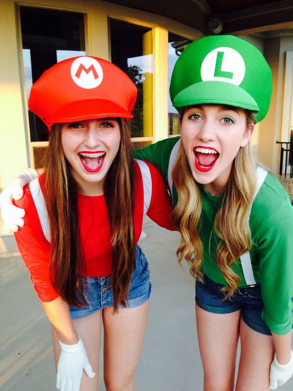 20 Best Friend Halloween Costumes For Girls