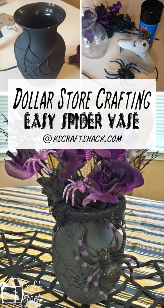 1 dollar store crafts for halloween - 30 Dollar Store DIY Projects for Halloween