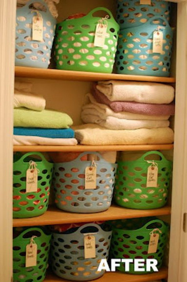 6 dollar store organizing ideas - Cool Dollar Store Organizing & Storage Ideas