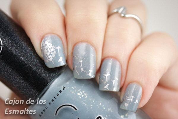 26 dandelion nail art - 40+ Cute Dandelion Nail Art Designs And Tutorials – Make a Dandelion Wish