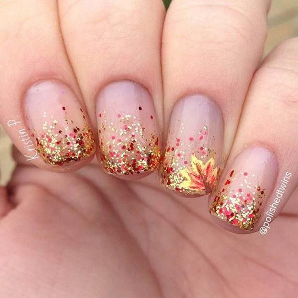 12 fall nail art designs - Fall Nail Art Designs