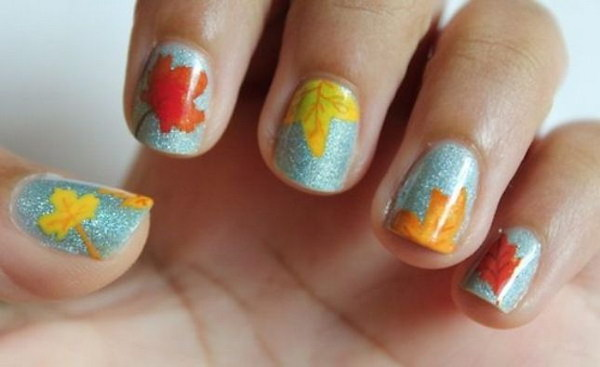 8 fall nail art designs - Fall Nail Art Designs