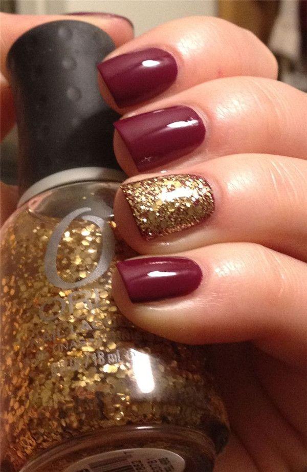 9 fall nail art designs - Fall Nail Art Designs