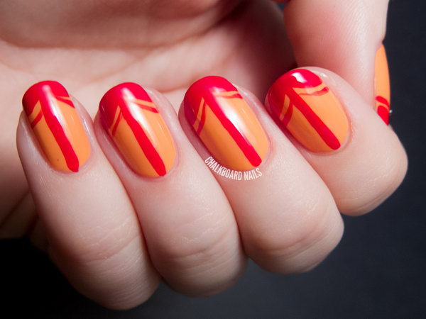 17 french tip nail designs - 60 Fashionable French Nail Art Designs And Tutorials