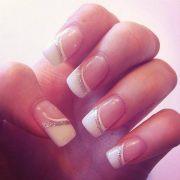 fashionable french nail art
