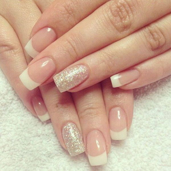 57 french tip nail designs - 60 Fashionable French Nail Art Designs And Tutorials