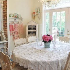 Hanging Chair Wicker Party Covers For Cheap Shabby Chic Dining Room Ideas: Awesome Tables, Chairs And Chandeliers Your Inspiration