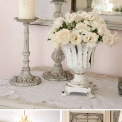 Dinner Table And Chairs Chair Covers Canada Shabby Chic Dining Room Ideas: Awesome Tables, Chandeliers For Your Inspiration