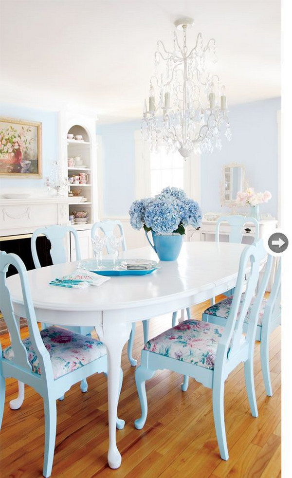 Shabby Chairs Room Dining Chic