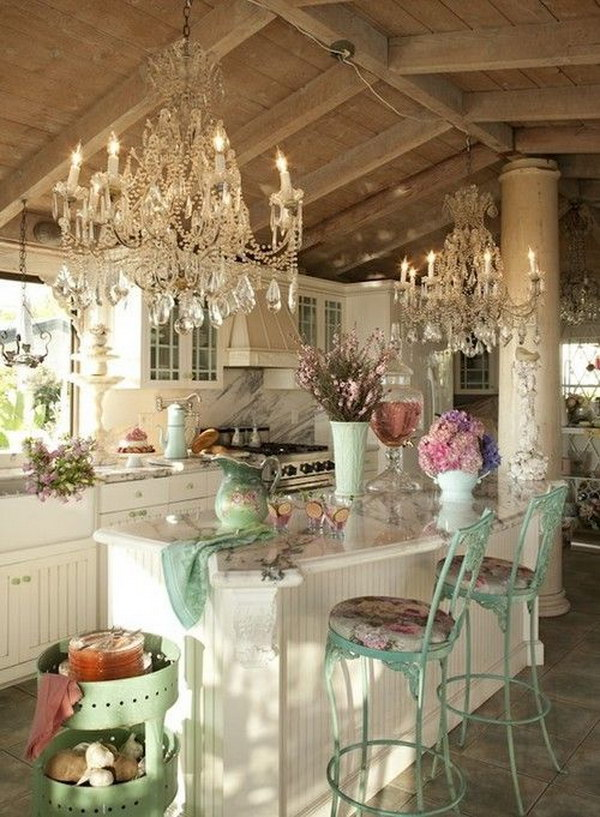 Awesome Shabby Chic Kitchen Designs
