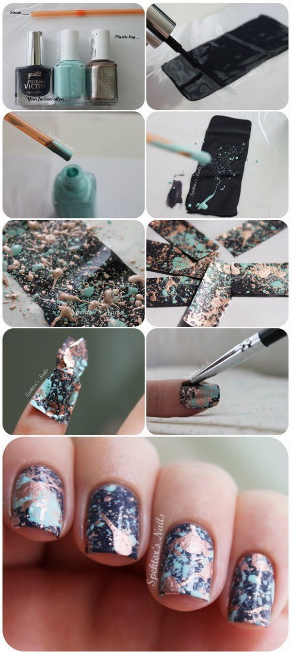 10 step by step nail art tutorials - 20+ Easy and Fun Step by Step Nail Art Tutorials