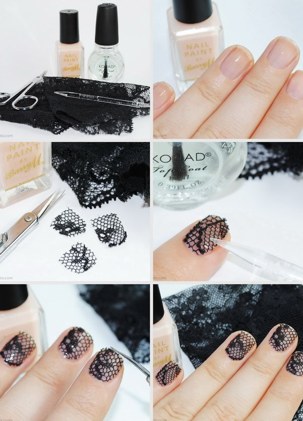 22 step by step nail art tutorials - 20+ Easy and Fun Step by Step Nail Art Tutorials