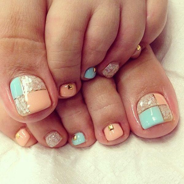 37 toe nail art designs - 60 Cute & Pretty Toe Nail Art Designs