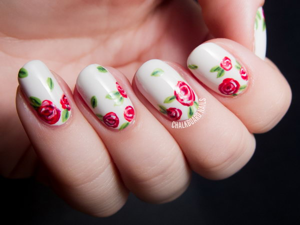 21 wedding nail art designs - 40+ Amazing Bridal Wedding Nail Art for Your Special Day