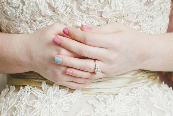 29 wedding nail art designs - 40+ Amazing Bridal Wedding Nail Art for Your Special Day