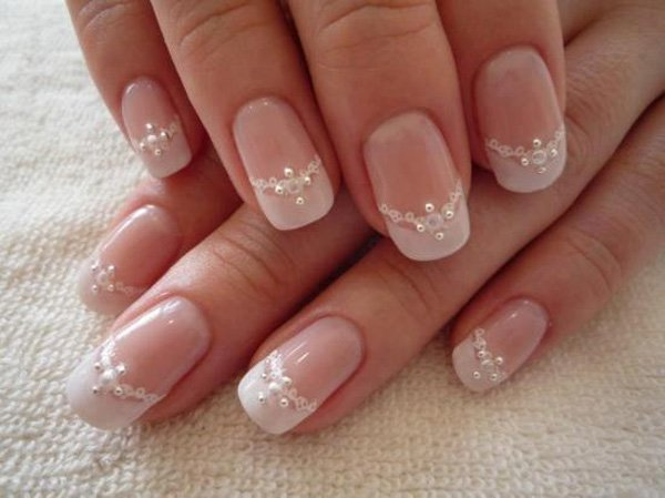 33 wedding nail art designs - 40+ Amazing Bridal Wedding Nail Art for Your Special Day
