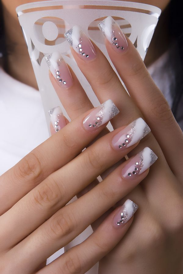 40 wedding nail art designs - 40+ Amazing Bridal Wedding Nail Art for Your Special Day