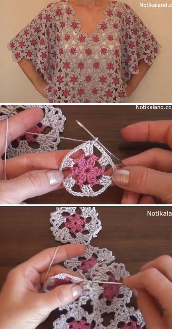 3 crochet women capes poncho ideas - 20 Crochet Women Capes and Poncho Ideas