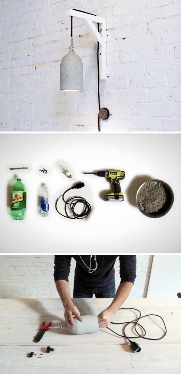 18 lamp ideas diy - 20 Easy DIY Lamp Ideas for Home Decor