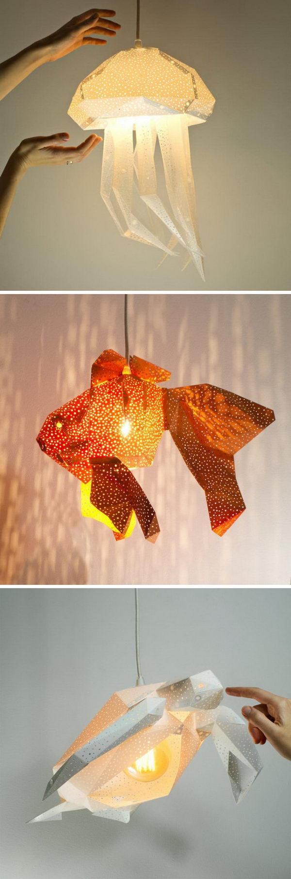 3 lamp ideas diy - 20 Easy DIY Lamp Ideas for Home Decor