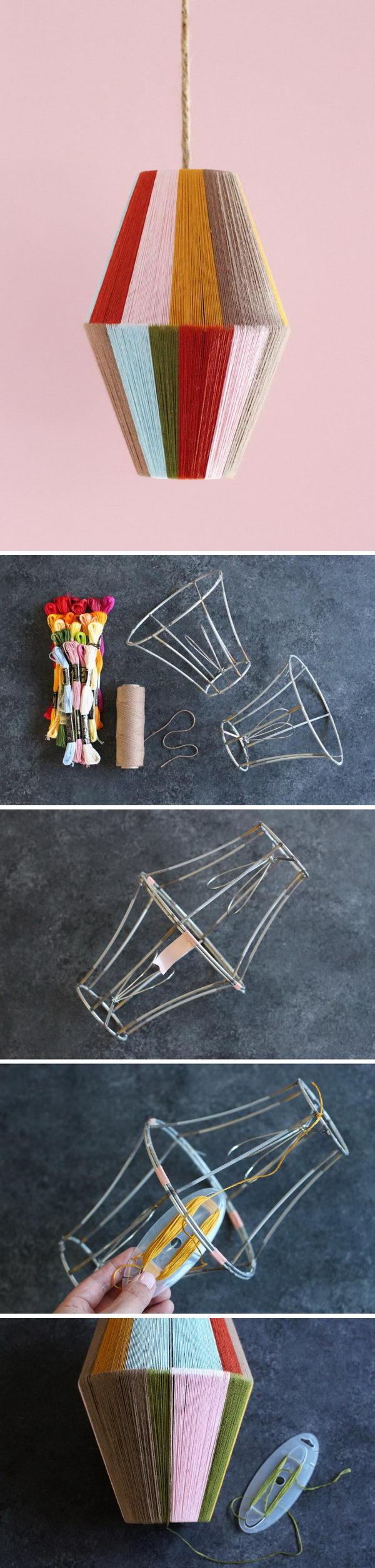4 lamp ideas diy - 20 Easy DIY Lamp Ideas for Home Decor