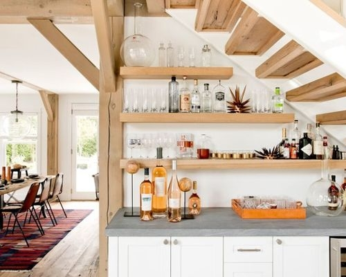 25 Ways To Make Use Of The Space Under Stairs Styletic | Bar Counter Design Under Stairs