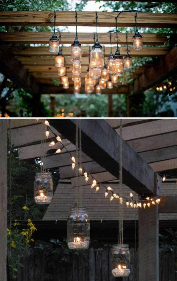 18 backyard lighting diy ideas - 20+ DIY Backyard Lighting Ideas