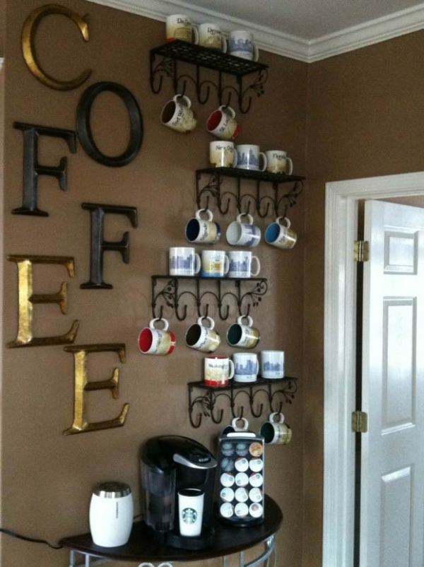 14 coffee station diy ideas tutorials - 15+ Cool DIY Coffee Station Ideas
