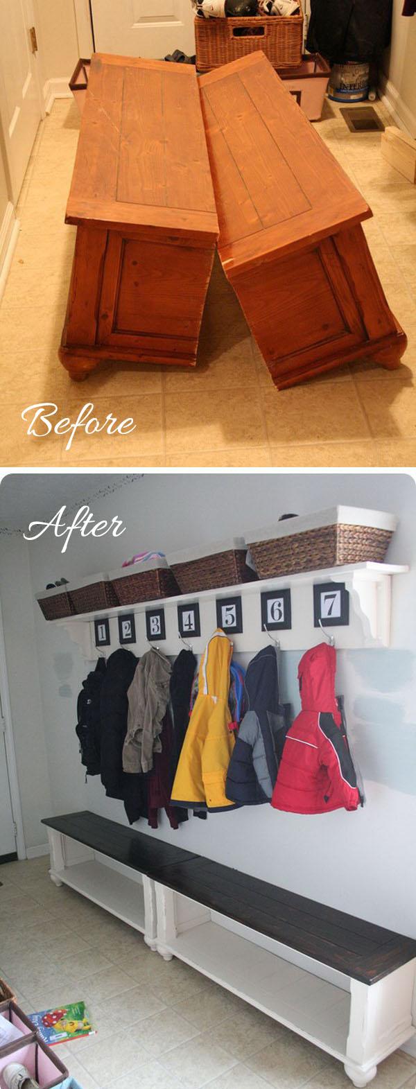1 entryway makeover diy ideas tutorials - 30+ DIY Ideas to Give a Makeover to a Your Entryway