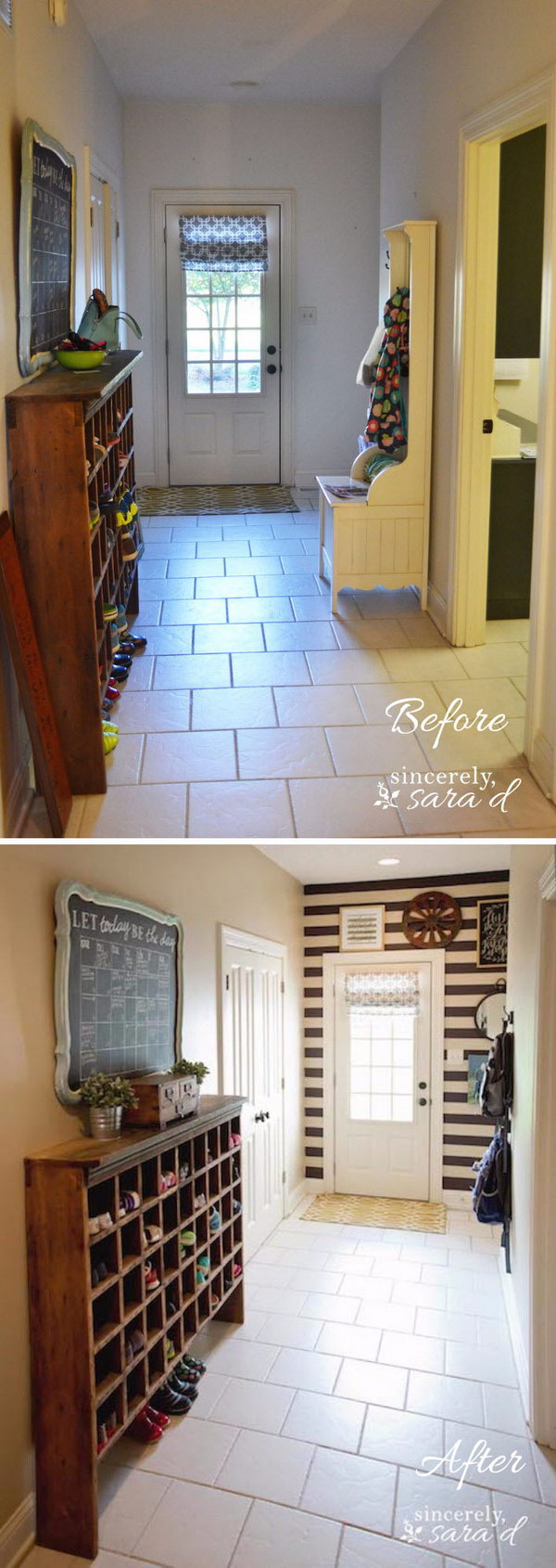 10 entryway makeover diy ideas tutorials - 30+ DIY Ideas to Give a Makeover to a Your Entryway
