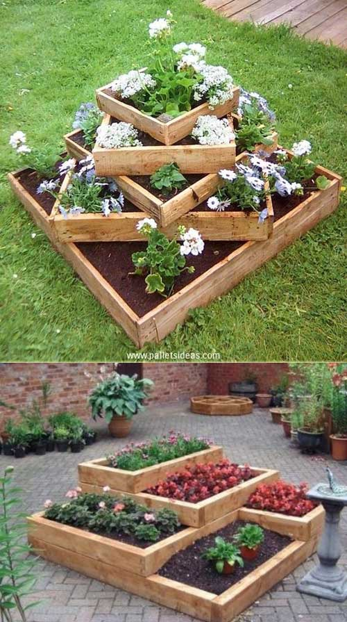7 garden bed planter diy ideas - 20 Cool DIY Garden Bed and Planter Ideas