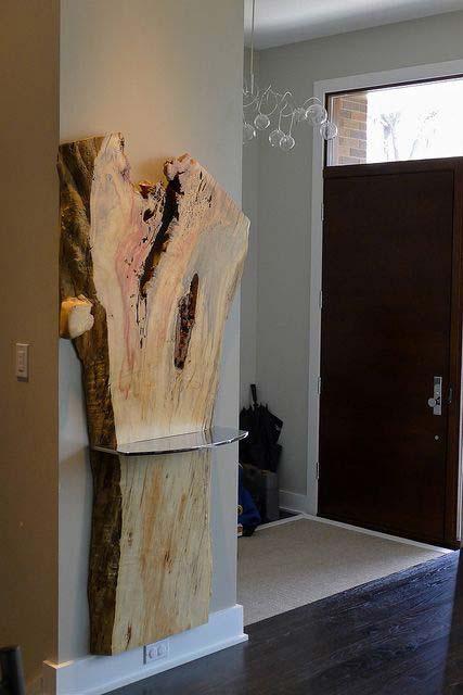 7 live edge wood decoration ideas - 20 Awesome Live Edge Wood Decoration Ideas