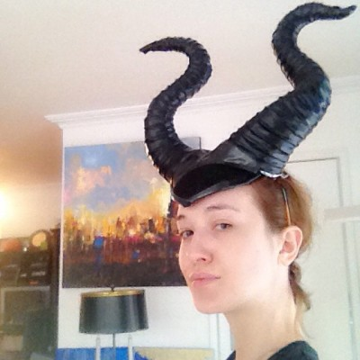 How To Make Maleficent Headpiece How To Make A Magician
