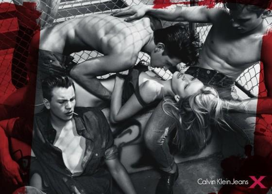 Calvin Klein Controversial Ad Campaign: Mark Wahlberg and Kate Moss. Calvin Klein isn't afraid to push marketing and advertising boundaries to captivate the younger demographic.