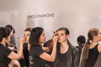 Backstage at Fashion Week, Nolcha Shows, Lu Yang