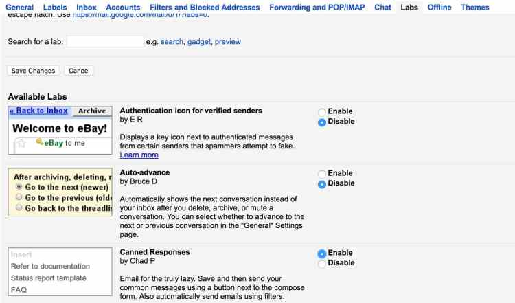 Step 2: How To Set Up Canned Emails in Gmail
