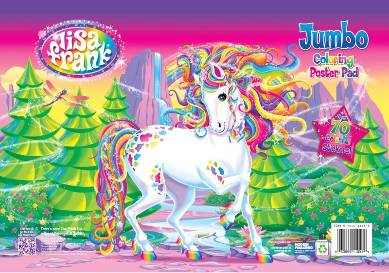 Lisa Frank Unicorn Makeup Beauty