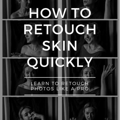 How To Retouch Skin In Photoshop Like a Magazine Retoucher