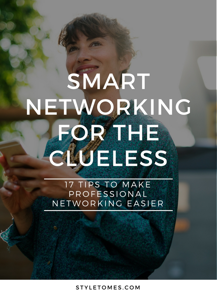 Professional Networking Guide for the Clueless